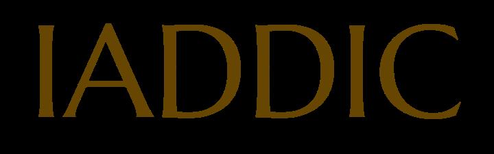 IADDIC text logo